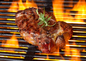 things to do at River Bluff Farm Bed and Breakfast - grilling steak